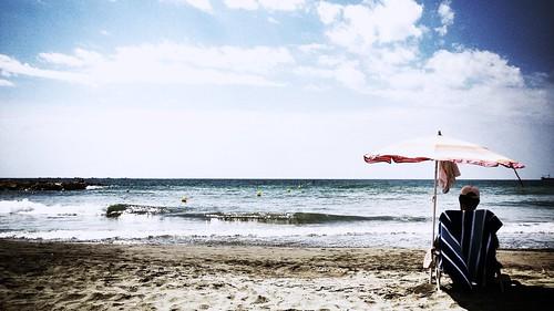 #Soyembajador En las playas de El Palo se está en familia