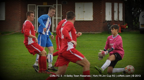 Cliffe FC 3 - 4 Selby Town Reserve (York FA Cup) 26Oct13