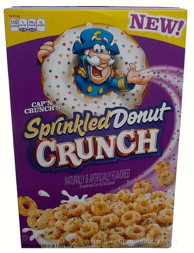 Cap'n Crunch's Sprinkled Donut Crunch Cereal