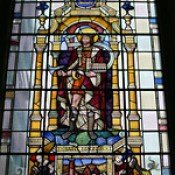 Window dedicated to St Magnus, St Magnus the Martyr, Lower Thames Street, City of London