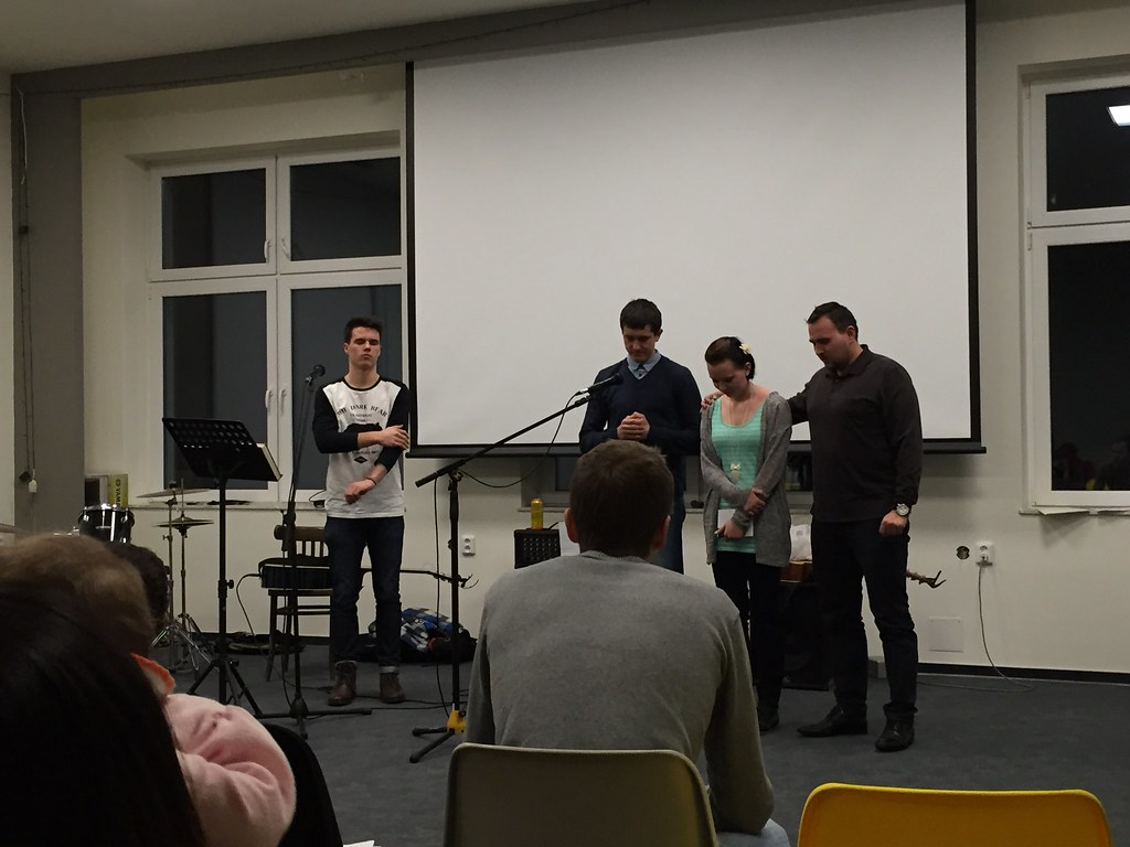 Youth Group in Czech (2/7/14)