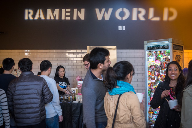 Mess Hall presents RamenWorld in Washington, D.C. on February 8, 2015.