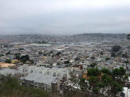 Bay View Park in San Francisco California.