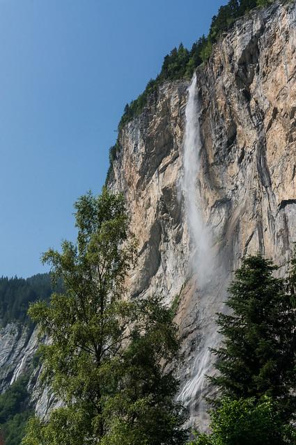 Through the Trees, Staubbach Falls, Switzerland