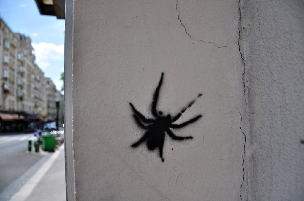 Araignée pochoir (2)