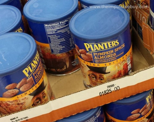Limited Edition Planters Pumpkin Spice Almonds