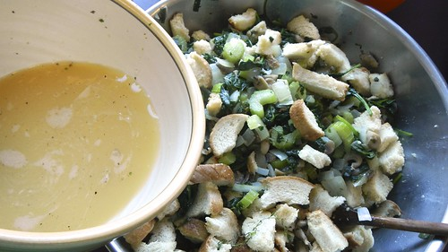 Mushroom Spinach Stuffing 23
