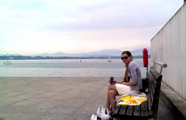 Santander Spain waterfront