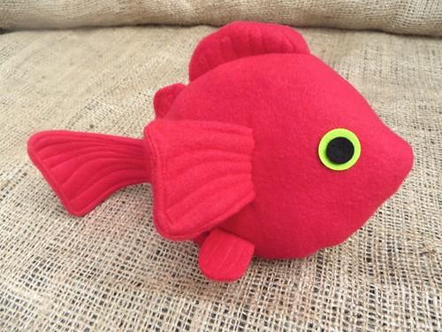 plush fish