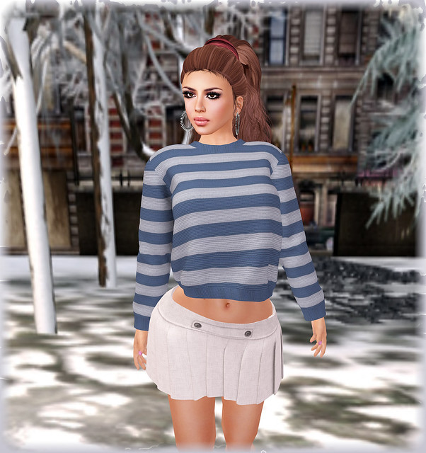 Albina's warm style