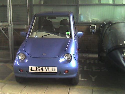 Electric cars at Imperial - 2