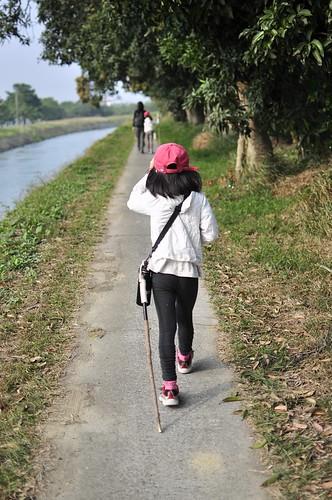 【Video】【散步水圳邊1】嘉南大圳南幹線官田段1(8.7ys)
