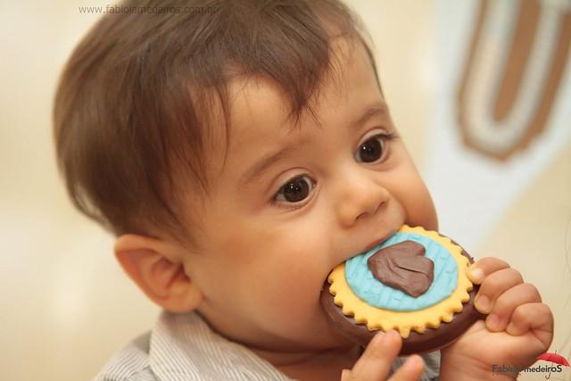 Aniversário de 1 aninho do Guilherme!