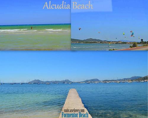 alcudia beach and Formentor Beach