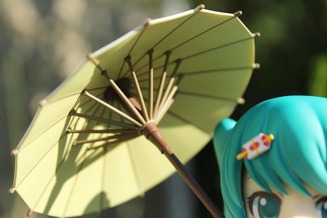 miku umbrella underside