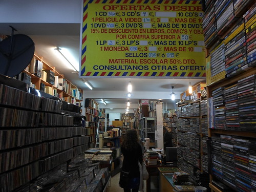 Kickass used book and music store
