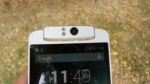 Oppo N1 หมุนกล้องหลังมาข้างหน้าได้