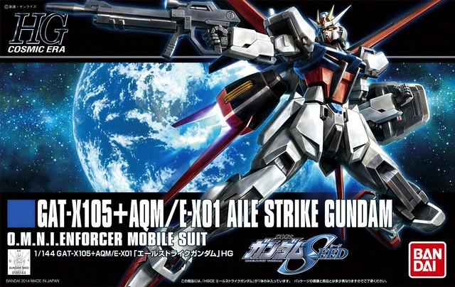 HGCE AIle Strike Gundam - Box Art