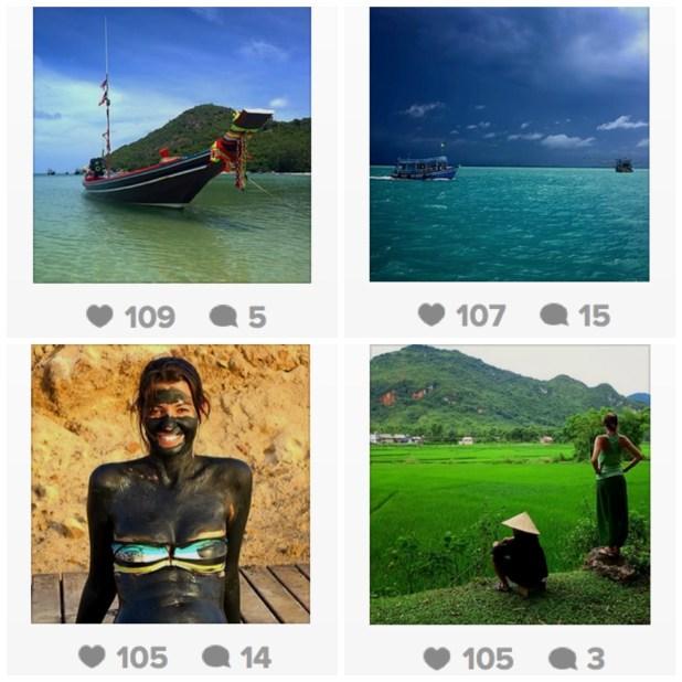 Vuelta al Mundo: las fotos que más han gustado en Instagram
