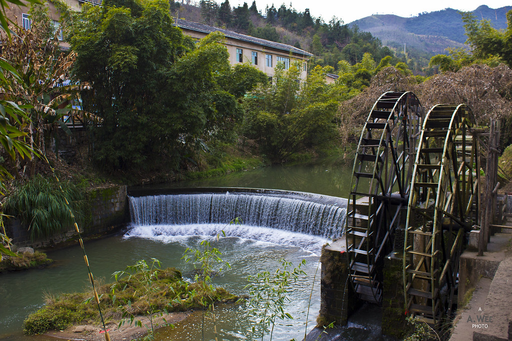 Waterwheel in the Village