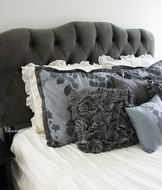 Surrey Tufted Headboard by Skyline Furniture