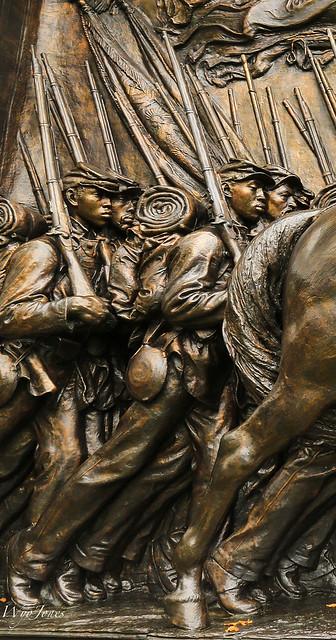 Members of The 54th Massachusetts Regiment
