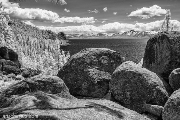 Lake Tahoe Vista Point #1 - Nikon 1 V1 - IR700nm - 6,7-13mm