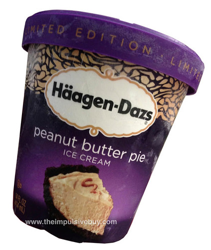 Ha?agen-Dazs Peanut Butter Pie Ice Cream