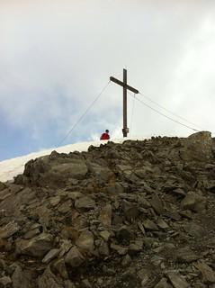 Gipfelkreuz Eidechsspitze