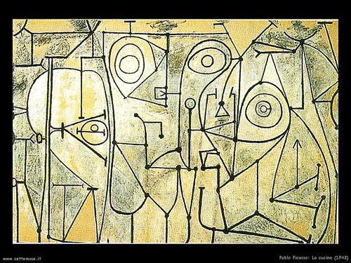 Pablo Picasso La cucina 1948