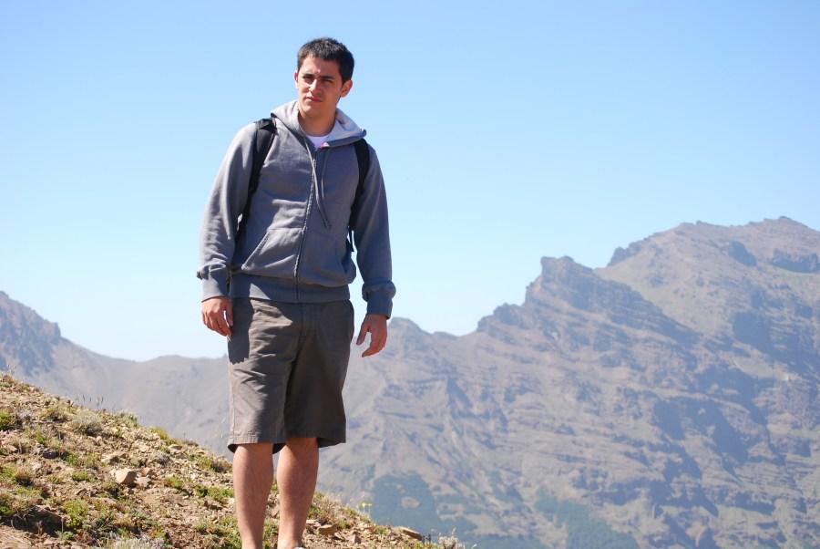 Yo en el cerro Chapelco