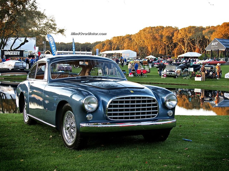 1951 Ferrari 212 Inter Ghia Alloy-Bodied Coupe