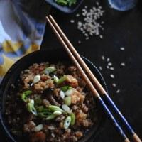 savory sticky rice