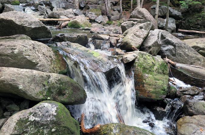 Angel Falls Trail Brook Crossing-2