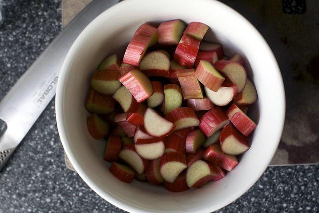 rhubarb, rhubarb, rhubarb