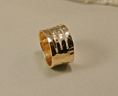 ring bronze size 9 by Wolfgang Schweizer