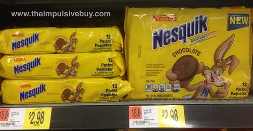 Nestle Nesquik Chocolate Sandwich Cookies