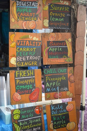 Smoothies menu - right