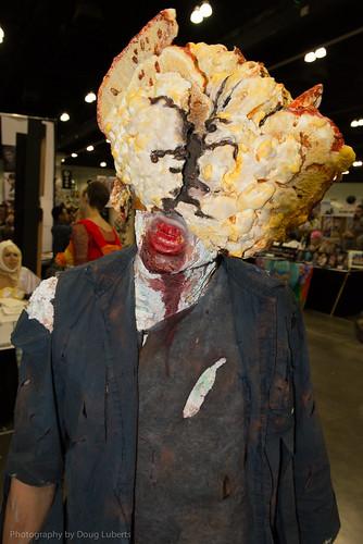 Stan Lee Comikaze cosplay zombie doug luberts