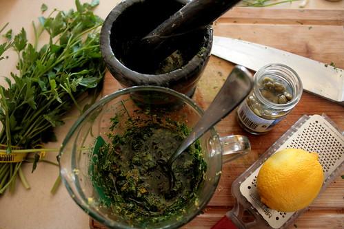 parsley (and salsa verde)