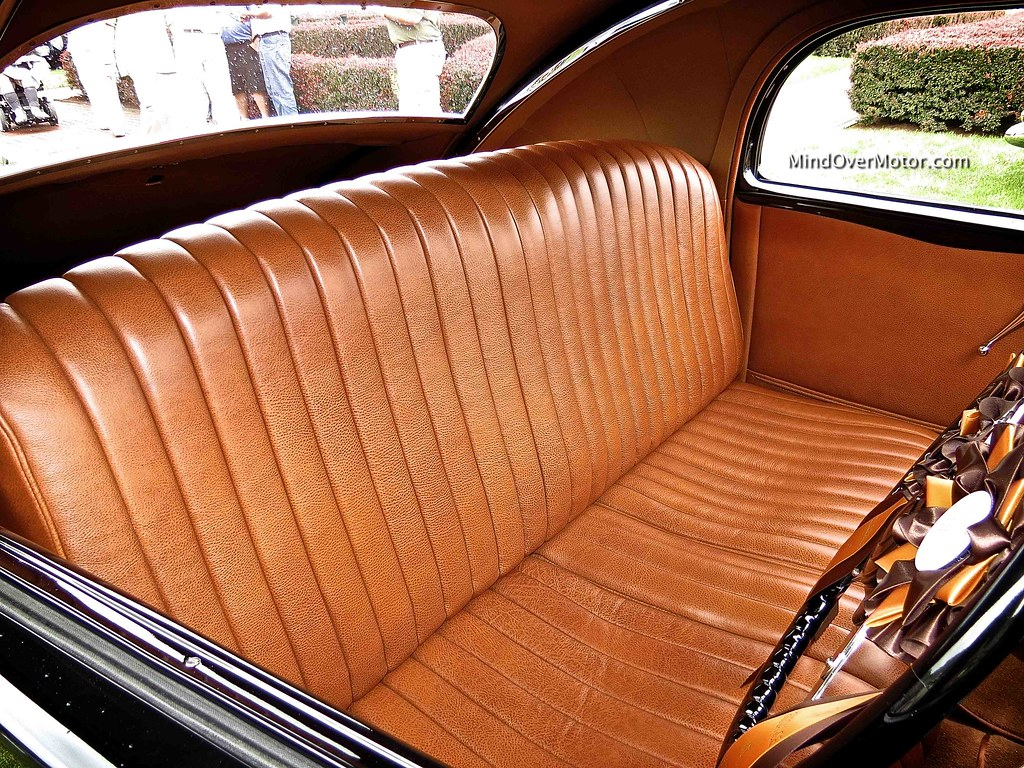 1937 Delage D8 120SS Aerodynamic Coupe Interior