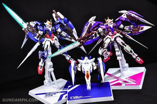 Metal Build 00 Gundam 7 Sword and MB 0 Raiser Review Unboxing (124)