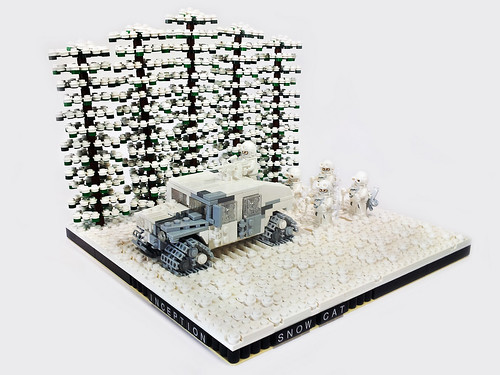 "Inception ""Snow Cat"" Arctic Warfare Humvee"