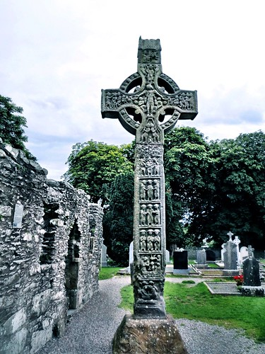 Monasterboice high cross by SpatzMe