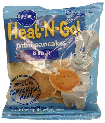 Pillsbury Heat-N-Go! Blueberry Mini Pancakes