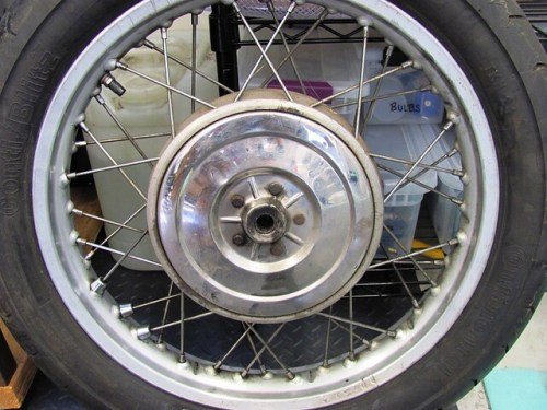 Rear Wheel, Bearing Cover Side