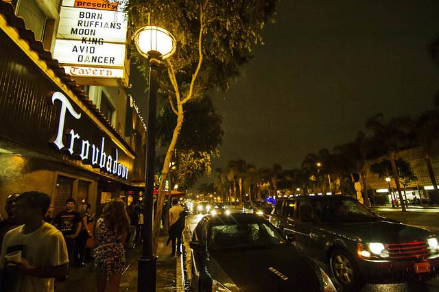 born ruffians @ troubadour, LA 5/6/13