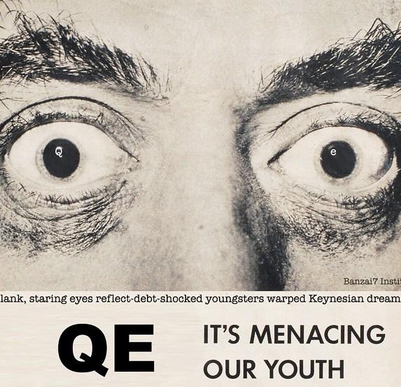 QE WARNING POSTER