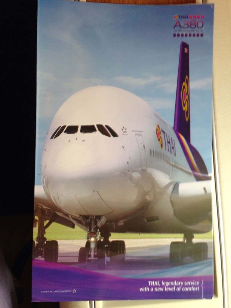 Thai A380 Stationery Folder