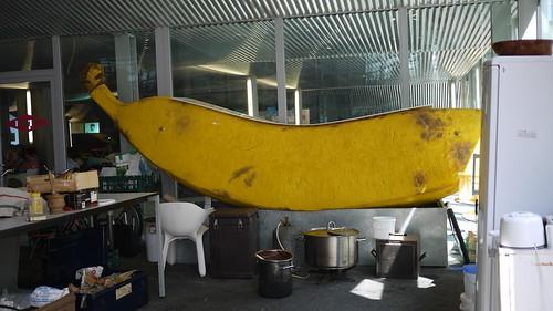 bon signe pour faire un téléphone bananne